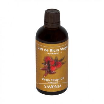 Ulei de Ricin Virgin, Uz Cosmetic, Savonia, 100 ml