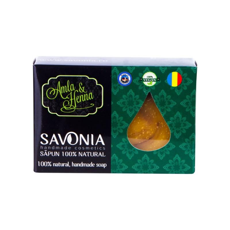 Sampon Solid Amla si Henna - Savonia