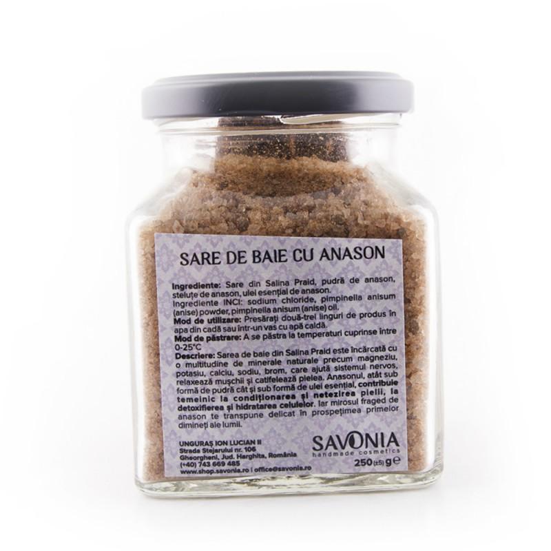Sare de Baie cu Anason
