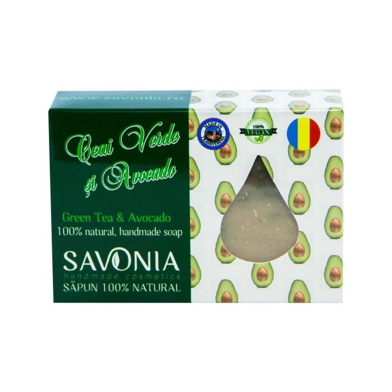 Sapun Natural Ceai Verde si Avocado - Savonia