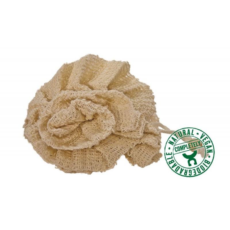 Burete Natural din Sisal, floare