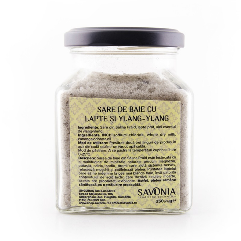 Sare de Baie de Lapte si Ylang Ylang