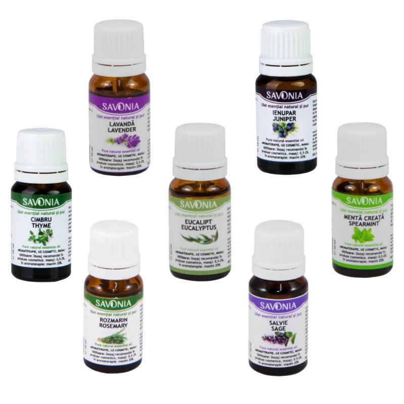 uleiuri esentiale antiinflamatoare Savonia