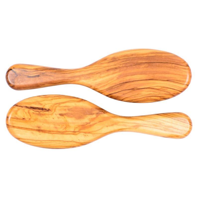 Perie par, mare, ovala, lemn Maslin, peri din carpen